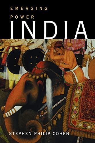 India: Emerging Power: Cohen, Stephen P.