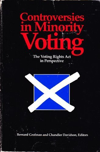 9780815717515: Controversies in Minority Voting: The Voting Rights Act in Perspective