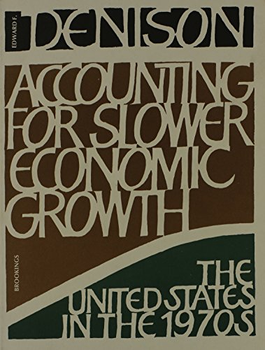 9780815718017: Accounting for Slower Economic Growth : The United States in the 1970s