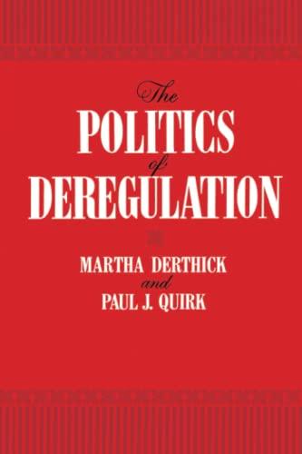 9780815718178: The Politics of Deregulation