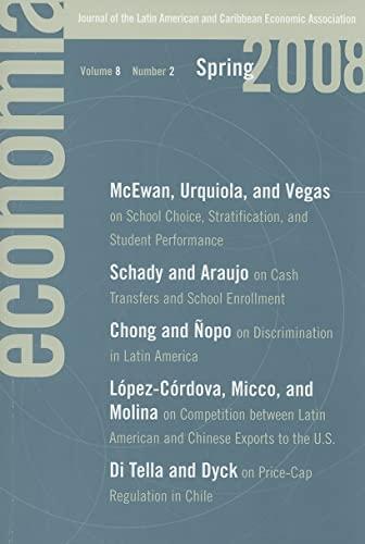 Economia: Spring 2008: Journal of the Latin