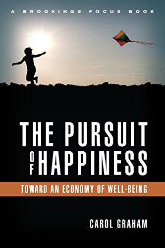 9780815721277: The Pursuit of Happiness: An Economy of Well-Being (Brookings Focus)