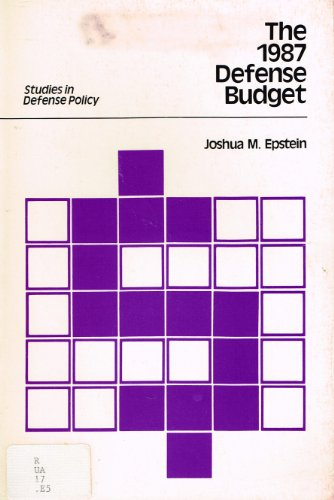 The 1987 Defense Budget