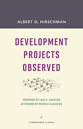 9780815726425: Development Projects Observed (A Brookings Classic)