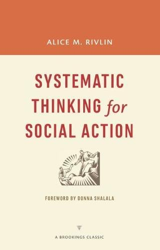 9780815726449: Systematic Thinking for Social Action (A Brookings Classic)
