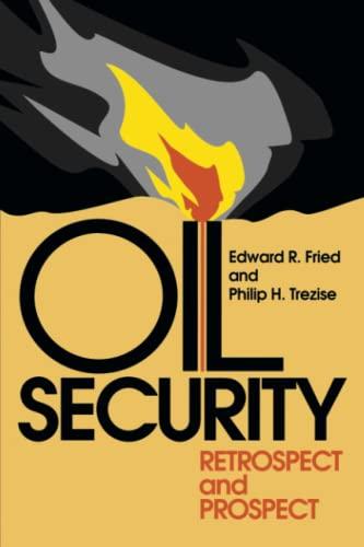 9780815729792: Oil Security: Retrospect and Prospect