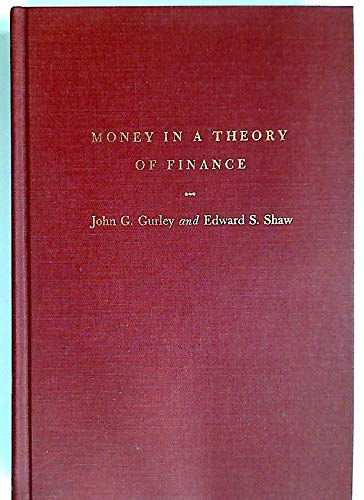 9780815733225: Money in a Theory of Finance