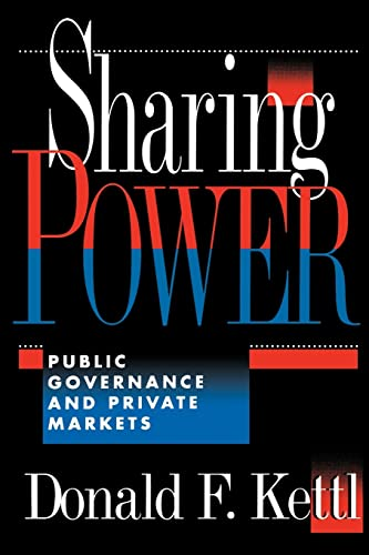 9780815749073: Sharing Power: Public Governance and Private Markets