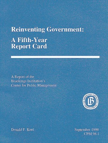 """reinventing government in canada essay Former vice president al gore launched a """"reinventing government"""" initiative during the clinton administration that sought to streamline government procedures and processes, and also sought to reduce duplication in government personnel."""