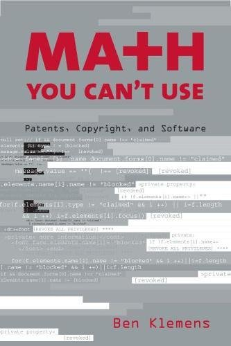 9780815749424: Math You Can't Use: Patents, Copyright, and Software