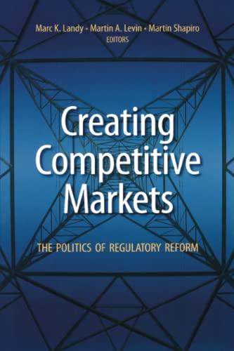 9780815751151: Creating Competitive Markets: The Politics of Regulatory Reform