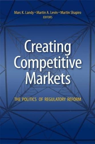 9780815751168: Creating Competitive Markets: The Politics of Regulatory Reform