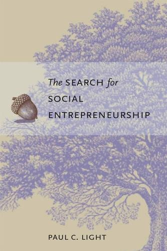 9780815752103: The Search for Social Entrepreneurship
