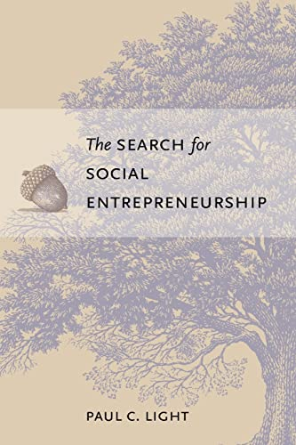 9780815752110: The Search for Social Entrepreneurship