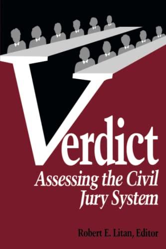 9780815752813: Verdict: Assessing the Civil Jury System