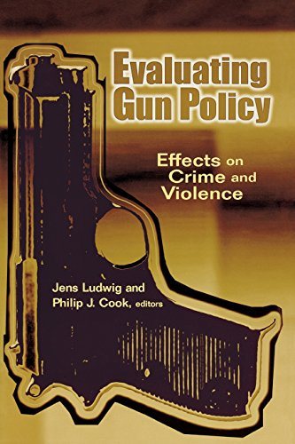 9780815753117: Evaluating Gun Policy: Effects on Crime and Violence (James A. Johnson Metro Series)