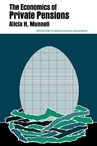 9780815758938: The Economics of Private Pensions (Studies in Social Economics)