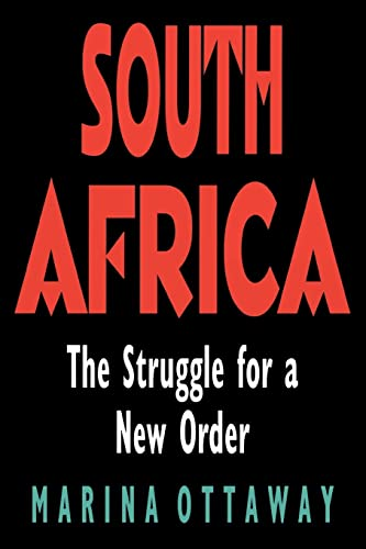9780815767152: South Africa: The Struggle for a New Order