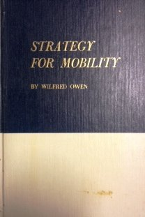 Strategy for Mobility (0815767765) by Wilfred Owen