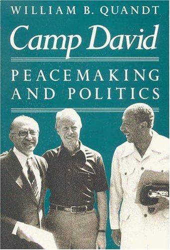 9780815772897: Camp David: Peacemaking and Politics