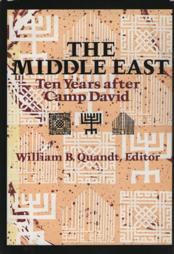 9780815772941: The Middle East: Ten Years After Camp David