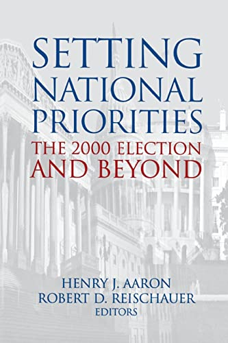 9780815774013: Setting National Priorities: The 2000 Election and Beyond
