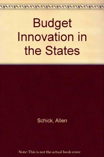 9780815777304: Budget innovation in the States