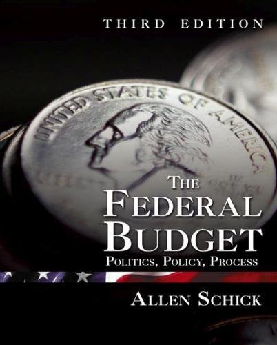 9780815777359: The Federal Budget: Politics, Policy, Process