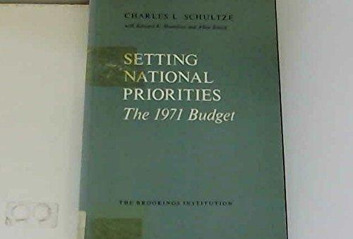 9780815777496: Setting National Priorities