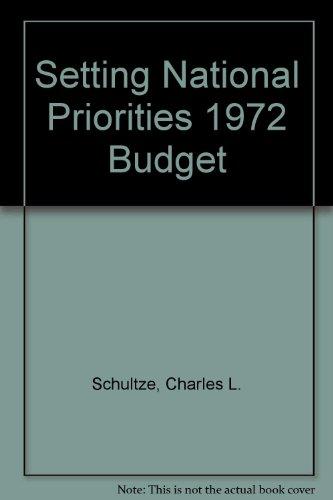 9780815777564: Setting National Priorities