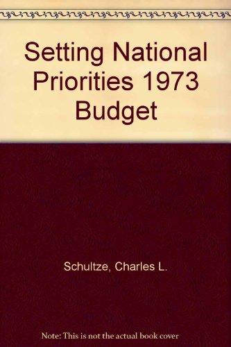 9780815777571: Setting National Priorities