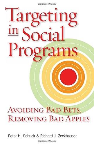 9780815778806: Targeting in Social Programs: Avoiding Bad Bets, Removing Bad Apples