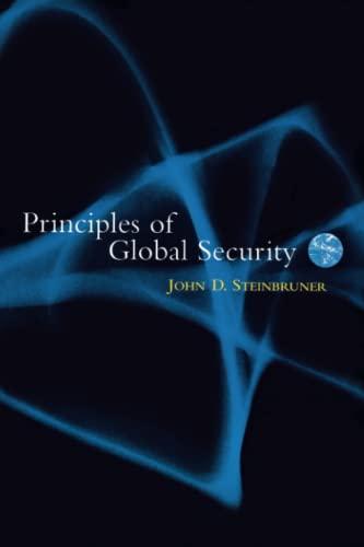 9780815780953: Principles of Global Security
