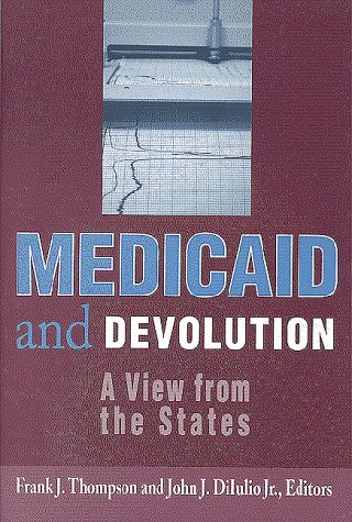9780815784500: Medicaid and Devolution: A View from the States