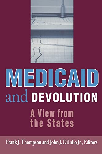 9780815784517: Medicaid and Devolution: A View from the States