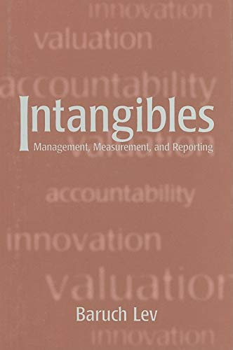 9780815798095: Intangibles: Management, Measurement, and Reporting