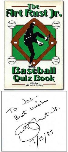 9780816010875: The Art Rust Jr. Baseball Quiz Book