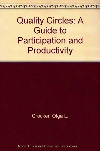 9780816011612: Quality Circles: A Guide to Participation and Productivity