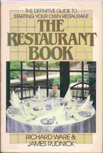 9780816012480: The restaurant book: The definitive guide to starting your own restaurant