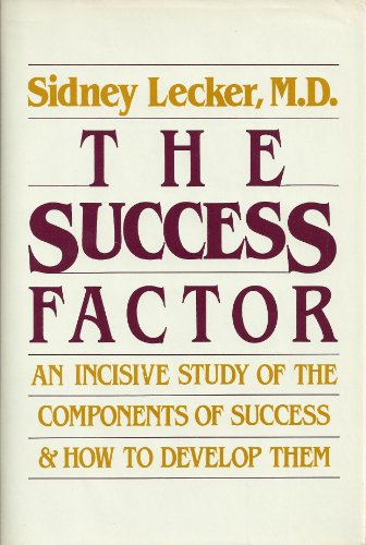 9780816012718: The Success Factor