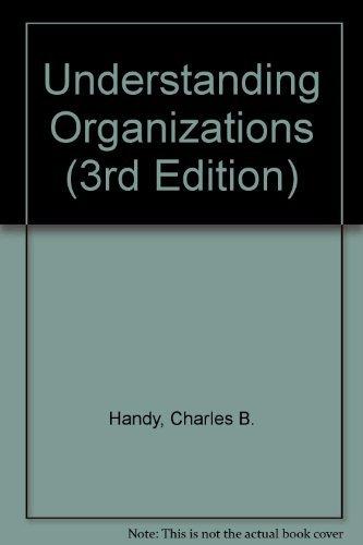 9780816013906: Understanding Organizations