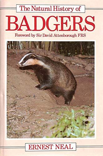 9780816014095: The Natural History of Badgers (Natural History Series)