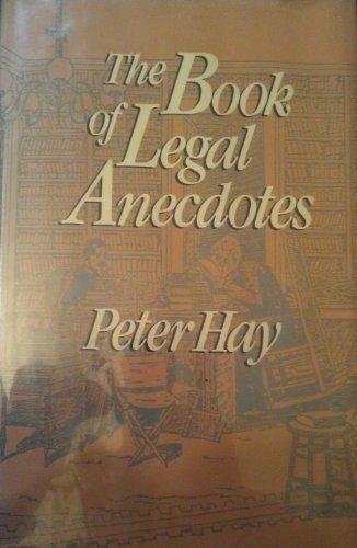 9780816015238: The Book of Legal Anecdotes