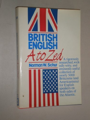 9780816016358: British English, A to ZEd