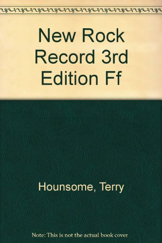 9780816017553: New Rock Record 3rd Edition Ff