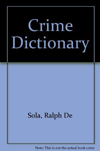 Crime Dictionary
