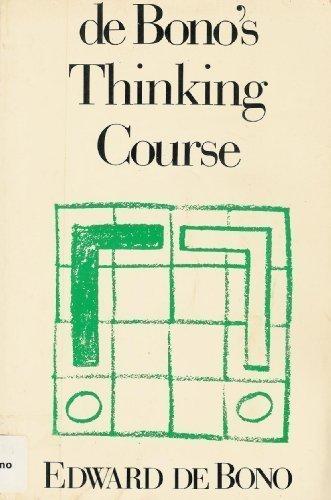 9780816018956: De Bono's Thinking Course