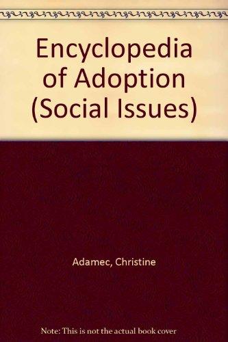 9780816021086: Encyclopedia of Adoption (Social Issues)