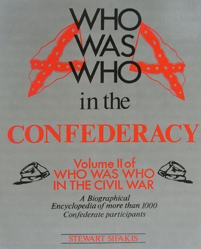 9780816022045: Who Was Who in the Confederacy