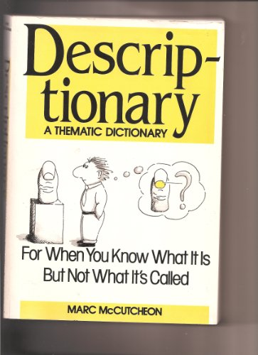 9780816024872: Descriptionary: A Thematic Dictionary